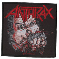 Anthrax patch - Fistfull of Metal