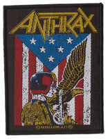 Anthrax patch - Judge Dredd