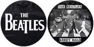 The Beatles slipmat 'Drop T logo & Abbey Road'