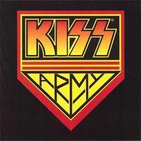 KISS wenskaart - Army