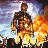 Iron Maiden wenskaart - Wicker man