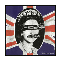 Sex Pistols patch - God Save The Queen