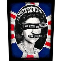 Sex Pistols back patch 'God Save The Queen'