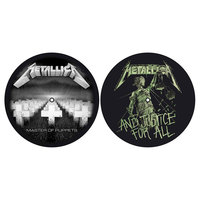 Metallica slipmat set - Master of Puppets / And Justice For All