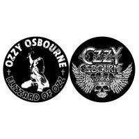 Ozzy Osbourne slipmat set - Blizzard of Ozz & Crest