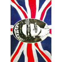Sex Pistols textielposter - God Save The Queen