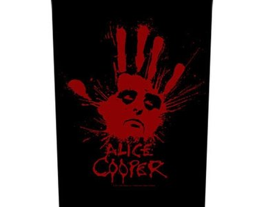 Alice Cooper back patch