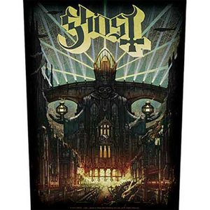 Ghost back patch 'Meliora'