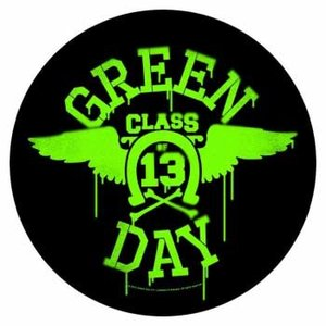 Green Day back patch 'Neon Wings'
