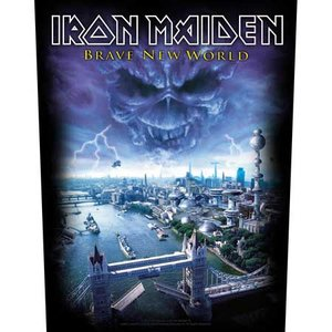 Iron Maiden back patch 'Brave New World'