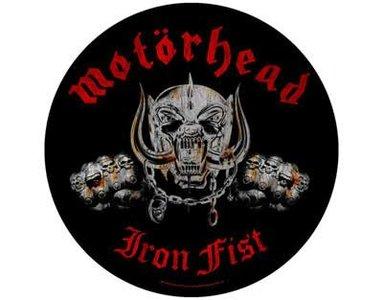 Motorhead backpatch - Iron Fist
