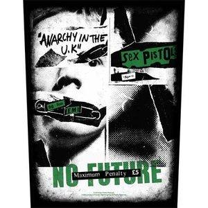 Sex Pistols back patch 'No Future'