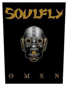 Soulfly back patch 'Omen'