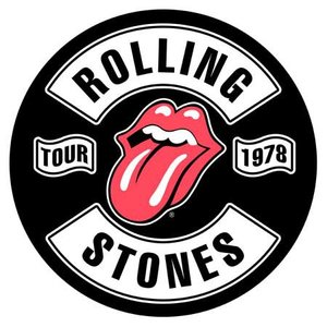 The Rolling Stones back patch 'Tour 1978'