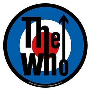 The Who back patch 'Target'