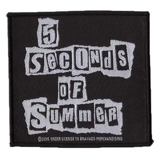 5 Seconds Of Summer patch 'Ripped Logo'