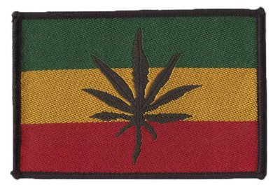 patch - Rasta Leaf
