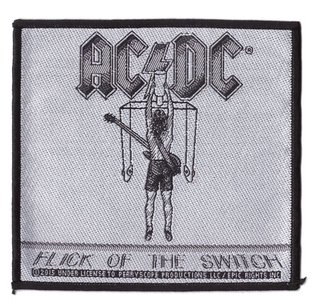 AC/DC patch 'Flick on the switch'