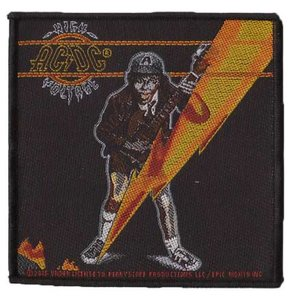 AC/DC patch 'High Voltage album'