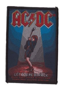 AC/DC patch 'Let There Be Rock'