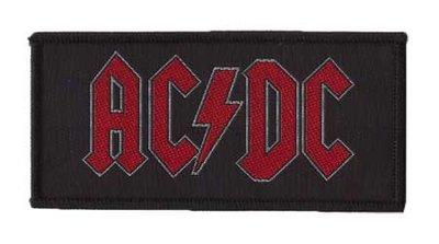 AC/DC patch 'Logo'