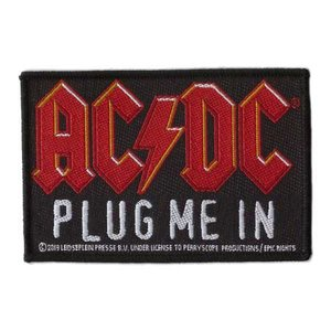 AC/DC patch 'Plug me in'