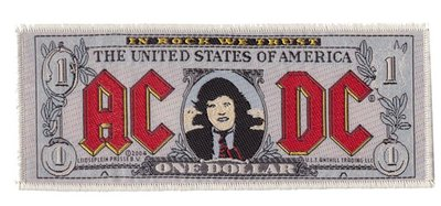AC/DC patch - Bank Note