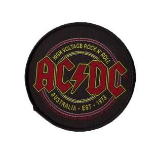 AC/DC patch - High Voltage Rock N Roll