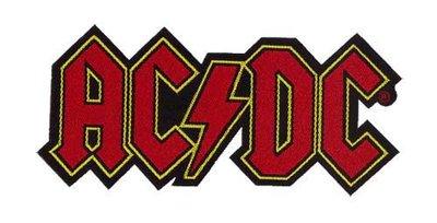 AC/DC patch - Logo Cut Out