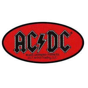 AC/DC patch - Oval Logo