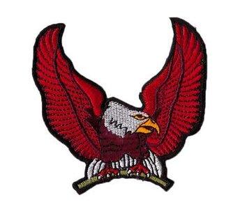 Adelaar patch (rood)