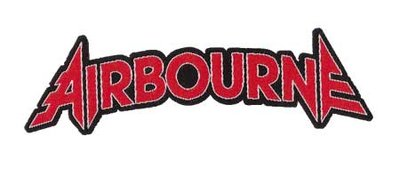 Airbourne patch 'Logo cutout'