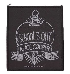Alice Cooper patch 'School's out'