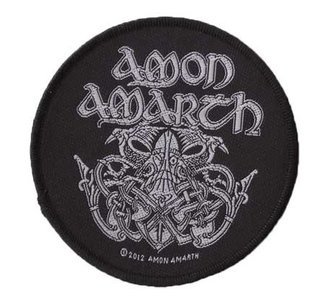 Amon Amarth patch - Odin