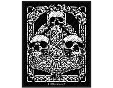 Amon Amarth patch - Three Skulls