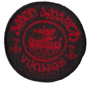 Amon Amarth patch - Vikings Circular