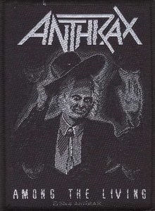 Anthrax patch 'Among The Living'