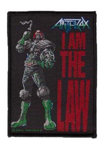 Anthrax patch 'I am the law'