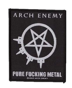 Arch Enemy patch 'Pure Fucking Metal'
