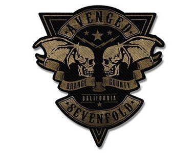 Avenged Sevenfold patch 'Orange County'