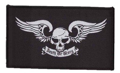 Biker patch 'Death or Glory'