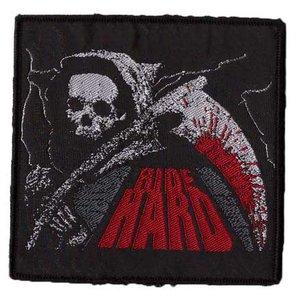 Biker patch 'Ride Hard'