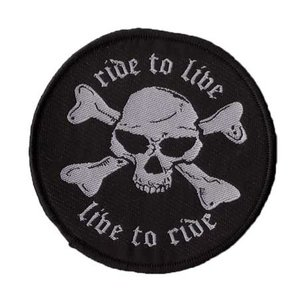 Biker patch 'Ride to Live'