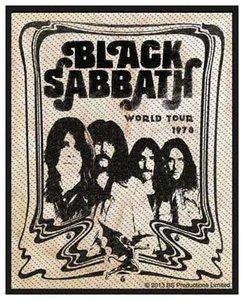 Black Sabbath patch 'band'