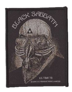 Black Sabbath patch 'Us Tour '78'