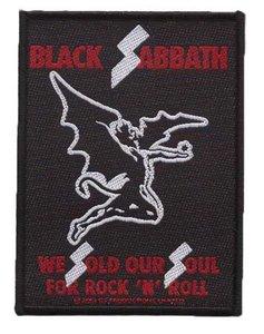 Black Sabbath patch 'We Sold Our Souls'