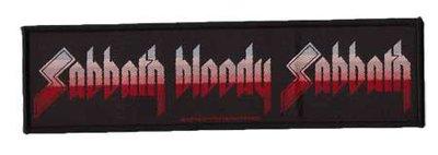 Black Sabbath superstrip patch
