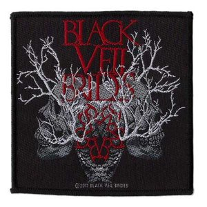 Black Veil Brides patch 'Skull Branches'