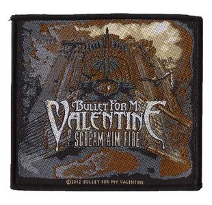 Bullet For My Valentine patch 'Scream Aim Fire'