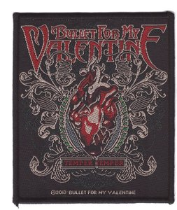 Bullet For My Valentine patch 'Temper Temper'